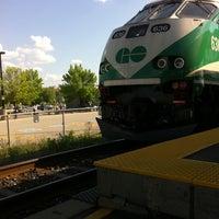 Photo taken at Burlington GO Station by Amaya on 6/5/2011