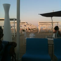 Photo taken at Novavita Beach by Alberto N. on 7/9/2011