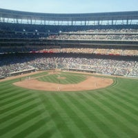 Photo taken at Section 238 @ Target Field by Angie B. on 8/25/2011
