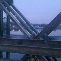 Photo taken at Rourke Bridge by Caitlin K. on 12/21/2011