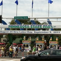 Photo taken at Minnesota State Fairgrounds by Lindsay D. on 8/27/2011