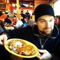 Photo taken at Butterhorn Bakery &  Cafe by Brandon B. on 2/17/2012