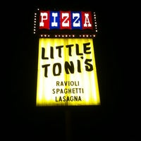 Photo taken at Little Toni's by Chad R. on 3/30/2011