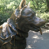 Photo taken at Balto Statue by Becs P. on 7/8/2012