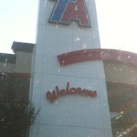 Photo taken at Travel Centers of America by Jovita J. on 9/25/2011