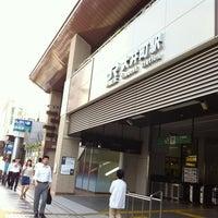 Photo taken at JR 大井町駅 by Koichiro Y. on 8/12/2012
