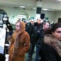Photo taken at Сбербанк by Boris E. on 12/27/2011
