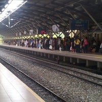 Photo taken at KTM Line - Mid Valley Station (KB01) by nirelwof on 8/16/2012