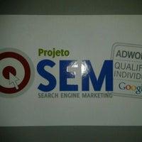 Photo taken at Projeto SEM by Sandro B. on 12/15/2011