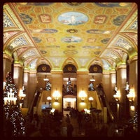 Photo taken at Palmer House - A Hilton Hotel by Kevin E. on 11/25/2011