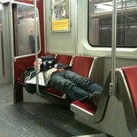 Photo taken at Finch Subway Station by Heather L. on 3/18/2011