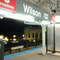 Photo taken at CTA - Wilson by Tria R. on 12/19/2011