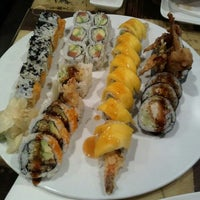 Photo taken at Fujiyama Sushi and Hibachi Grill by Nathan T. on 11/22/2011