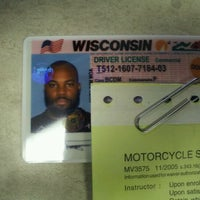 Photo taken at Wisconsin Division of Motor Vehicles (DMV) by DT AKA The Beast!!! on 4/23/2012