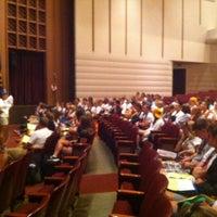 Photo taken at Loeb Playhouse by Ken F. on 8/10/2012