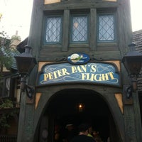 Photo taken at Peter Pan's Flight by Maryanne on 8/7/2012