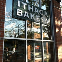 Photo taken at Ithaca Bakery by Dino P. on 10/5/2011