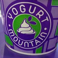 Photo taken at Yogurt Mountain by kevin g. on 7/28/2012