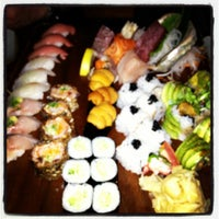 Photo taken at Blue Ribbon Sushi by Leonard S. on 3/30/2012