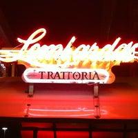 Photo taken at Lombardo's Trattoria by Stephanie P. on 10/29/2011