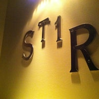 Photo taken at Stir Lounge by Donovan S. on 2/10/2012
