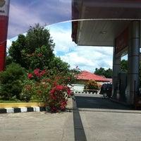 Photo taken at SPBU Pertamina 74.955.05 by Nicky S. on 10/25/2011