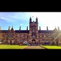 Photo taken at The University of Sydney (USYD) by 高手놀리밑™ on 4/28/2012