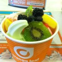 Photo taken at Orange Leaf by Tia S. on 5/12/2012