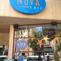 Photo taken at Nova Cafe by Porter on 7/17/2012