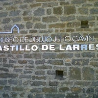 Photo taken at Museo de Dibujo Castillo de Larrés by Luis Z. on 3/18/2012