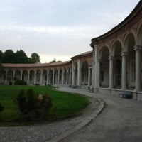 Photo taken at Rotonda della Besana by Maria R. on 4/28/2012
