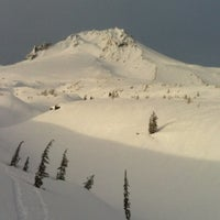 Photo taken at Timberline Lodge by Bei L. on 2/20/2012