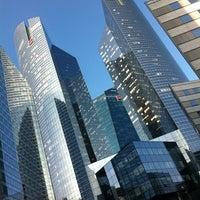 Photo taken at Société Générale Twin Towers by Pascal T. on 3/30/2012