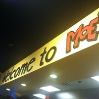 Photo taken at Moe's Southwest Grill by Jess R. on 9/3/2012