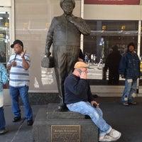 Photo taken at Ralph Kramden Statue by Carter M. on 4/30/2012