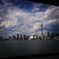 Photo taken at Billy Bishop Toronto City Airport Ferry by Nico A. on 8/13/2012