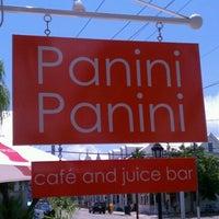 Photo taken at Panini Panini by Melanie C. on 9/3/2012