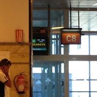 Photo taken at Gate C 8 by Dipak D. on 6/21/2012