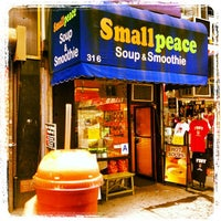 Photo taken at Small Peace Soup & Smoothie by Marty D. on 6/28/2012