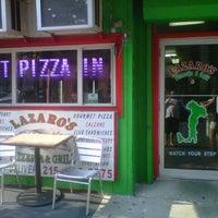 Photo taken at Lazaros Pizza House by Joe V. on 6/28/2012