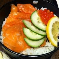 Photo taken at Sushi Zanmai (壽司三味) by Jackson K. on 3/24/2012