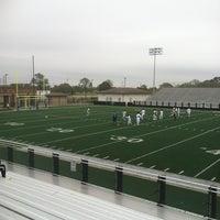 Photo taken at Veterans Memorial Stadium by Doris H. on 3/10/2012
