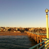 Photo taken at Manhattan Beach Pier by Helen Y. on 6/26/2012