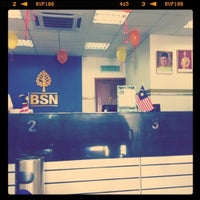 Photo taken at Bank Simpanan Nasional (BSN) Serdang by Ain S. on 8/9/2011