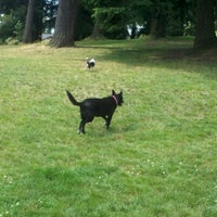 Photo taken at French Lake Off-Leash Dog Park by Nicole L. on 7/21/2012