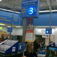 Photo taken at Walmart Supercenter by Ka H. on 1/11/2012