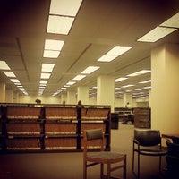 Photo taken at University Library by CJ L. on 5/16/2012