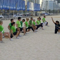 Photo taken at Ignite Military Bootcamp Dubai Marina by Guillaume M. on 1/16/2012