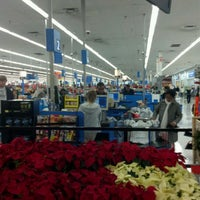 Photo taken at Walmart Supercenter by Michael H. on 11/27/2011