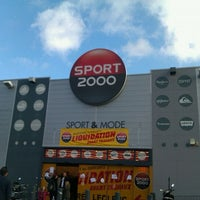 Photo taken at Sport 2000 by Maxime L. on 11/27/2011